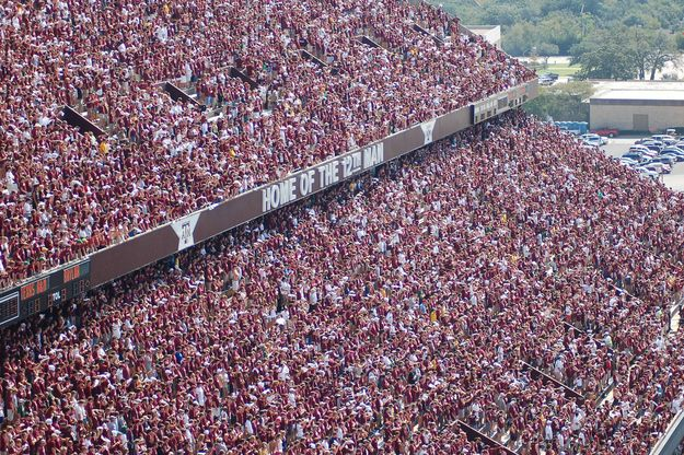 Texas A&M: The 12th Man | The 11 Coolest Traditions In College Football >click< for the rest