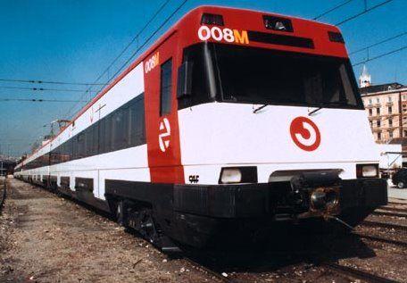 The train to Malaga City