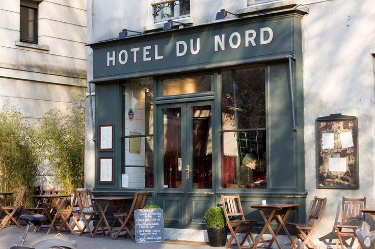 eat lunch at h tel du nord 102 quay de jemmapes paris 10e famous due to film de marcel carne. Black Bedroom Furniture Sets. Home Design Ideas