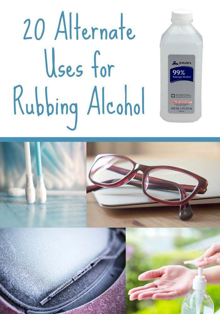 You can do so much with rubbing alcohol - it's really amazing! Here are 20 alternate uses you may not have thought of.