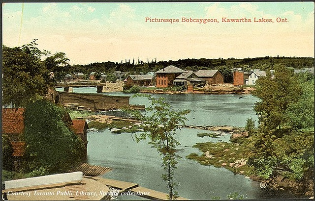 Picturesque Bobcaygeon, Kawartha Lakes, Ontario, Canada    Creator: Valentine & Sons' Publishing Co. Ltd  Date: 1910