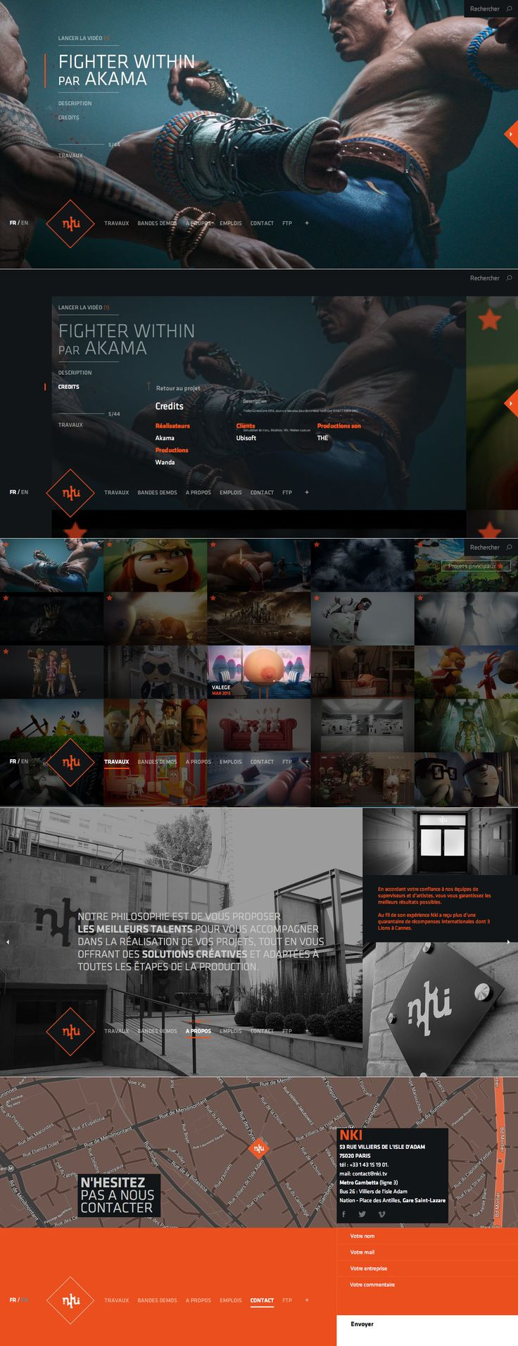 NKI \\ Such a cool website for this studio. http://nki.tv