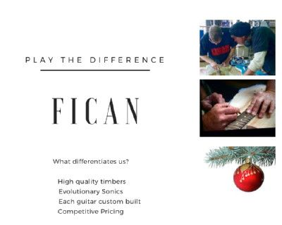 We can't wait for you to try it.   contact our friendly team today, no questions to hard.   support@ficanguitars.com