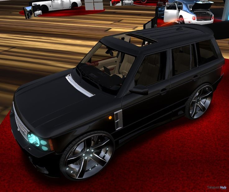 Large RR Black SUV March 2018 Gift by Billionaire Motor