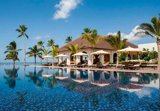 A five-star island paradise off the coast of Tanzania, with boutique interiors, a luxe spa, a private pool and the option of a dreamy oceanfront villa