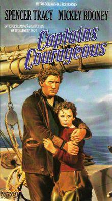 Captains Courageous //   Directed byVictor Fleming  Written byRudyard Kipling (novel)  StarringFreddie Bartholomew  Spencer Tracy  StudioMetro-Goldwyn-Mayer  Distributed byMetro-Goldwyn-Mayer  Release date(s)May 11, 1937