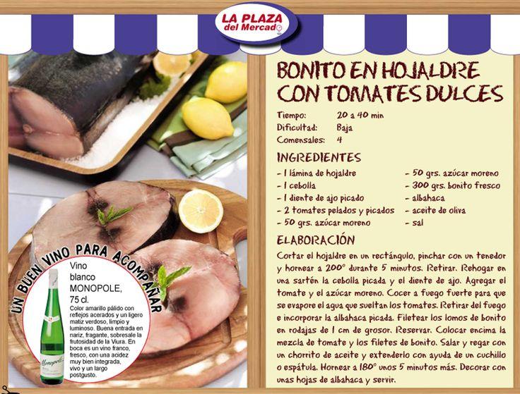 Imagen catalogo-supercor-navidad-2015-RECETA-pescados-bonito-en-hojaldre-con-tomates-dulces del artículo Catálogo Supercor Navidad 2015