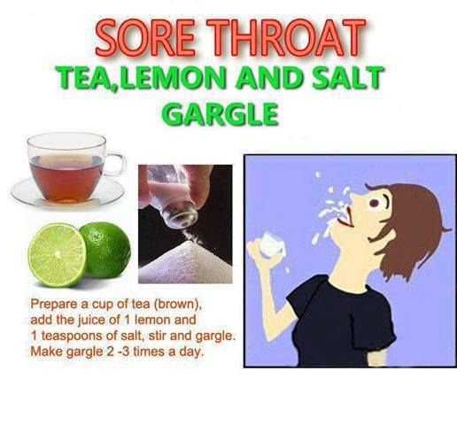 how to give myself a sore throat