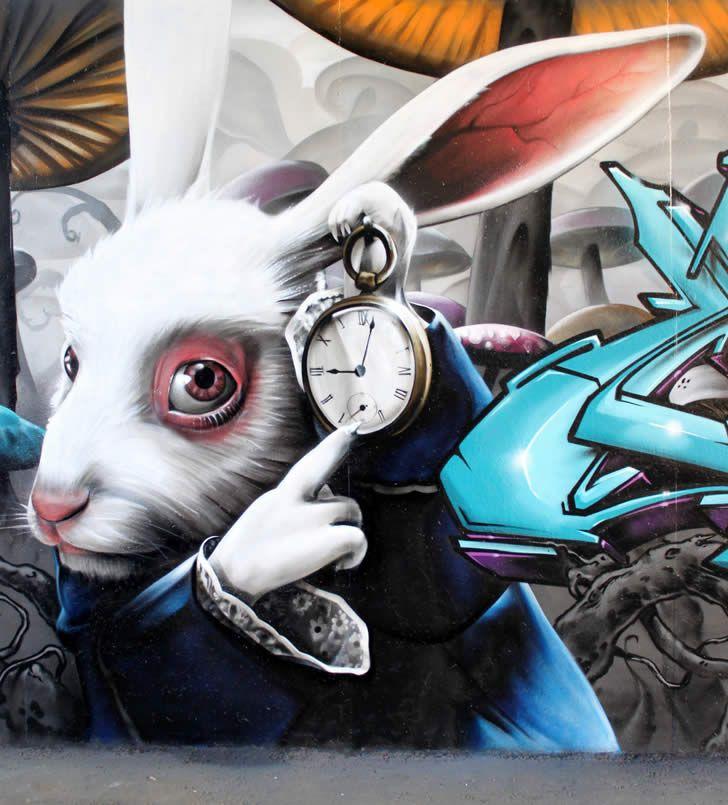 Street Art: Bite Your Spray Can!