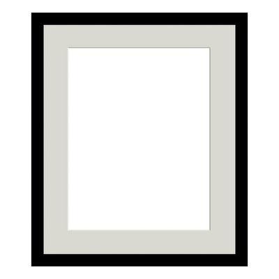 Decorazione-Cornice Lario con passe-partout nero 24 x 30 cm-35585851