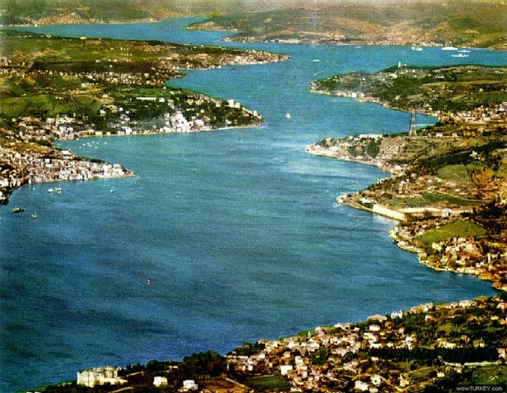 Bosphorus before 1950...