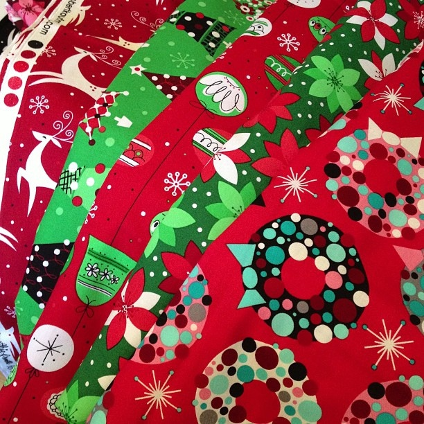 100 best HOLIDAY - Christmas Fabrics images on Pinterest ...