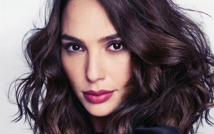 Download imagens Gal Gadot, Retrato, make-up, mulher bonita, A atriz israelense, Mulher Maravilha