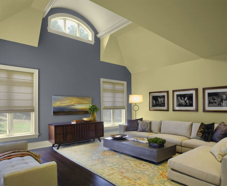 Family Room Accent Wall Colors
