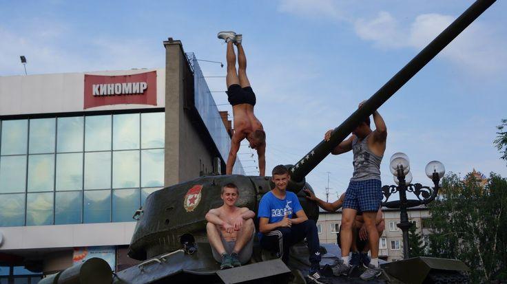 АиФ провёл День молодёжи у к/т Мир в Барнауле
