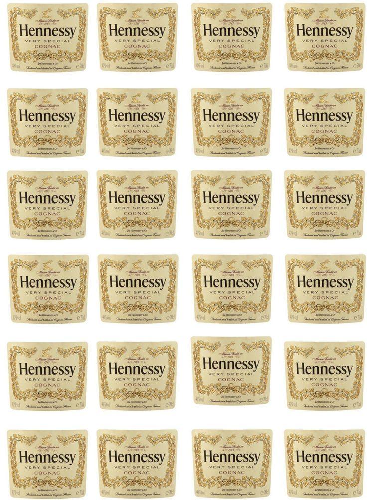 Hennessy Bottle Edible Image Labels by ShoreCakeSupply on Etsy