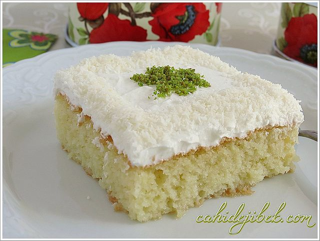 Süt Şerbetli Sünger Tatlısı(Şerbet-i Sütlü) | Cahide Sultan بسم الله الرحمن…