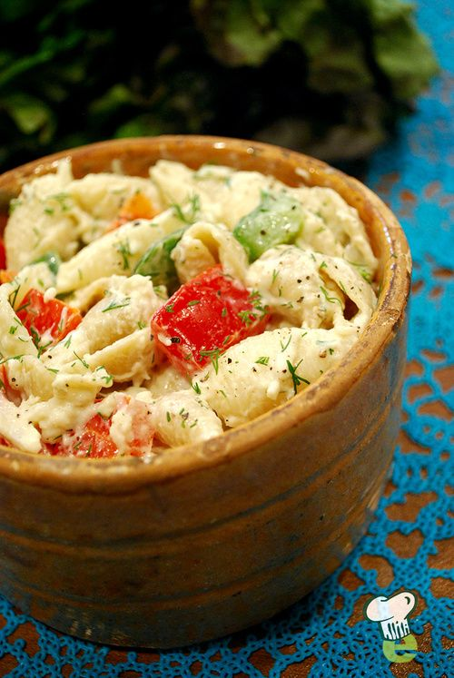 Healthy Low Fat Pasta Salad 31