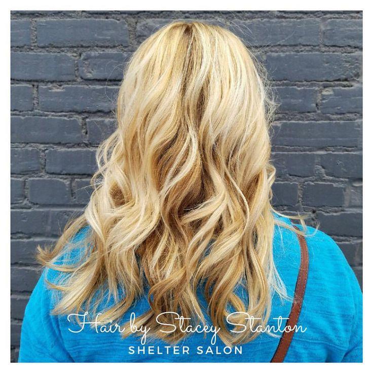 Golden Blonde cut & color by Stacey Stanton | Kevin.Murphy color | Shelter Salon | Wichita, KS