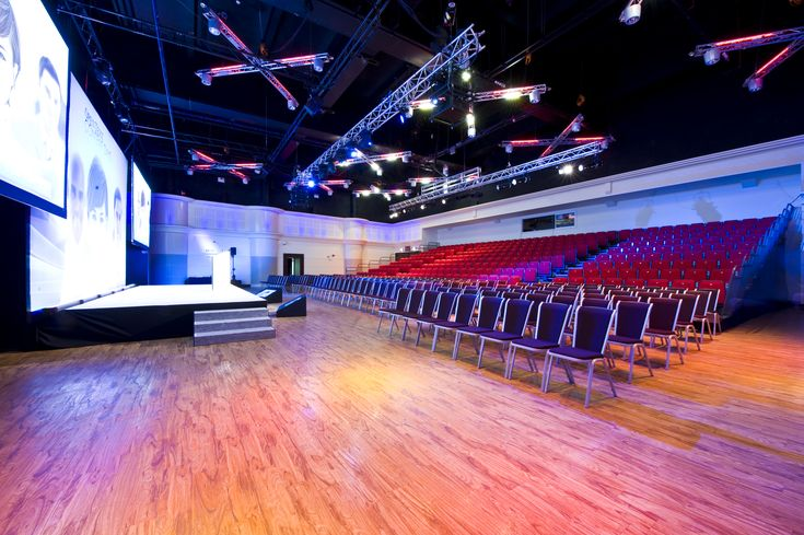 The Live Room is Twickenham Stadium's auditorium, perfect for conferences, product launches and live events