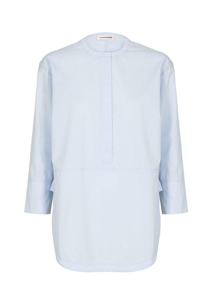 Tassa Blue Tunic Shirt   Custommade.dk