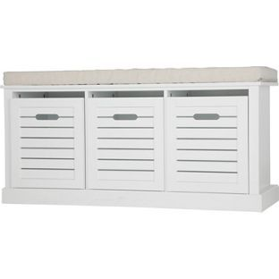 Buy Hereford Storage Bench - White at Argos.co.uk, visit Argos.co.uk to shop online for Shoe storage
