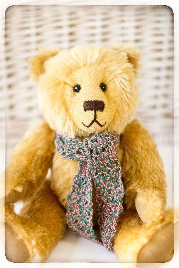 Teddy Bear HENRY Artist OOAK Mohair Bear by TeacupTeddyBears