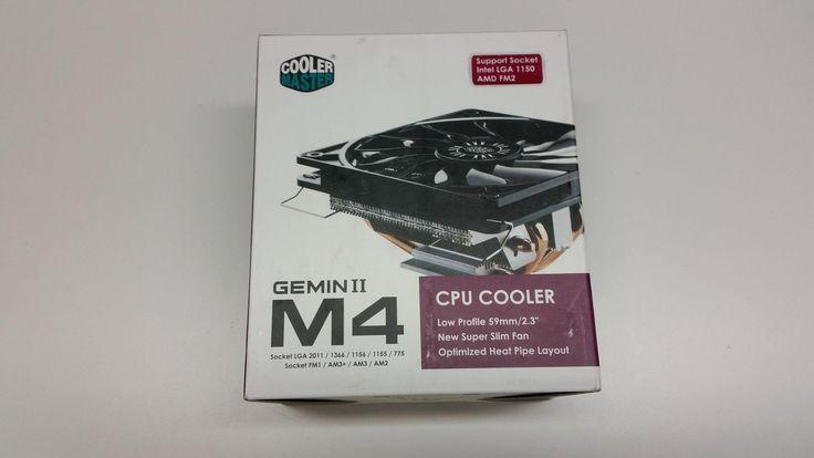 Cooler Master Gemin II M4 RR-GMM4-16PK-R2 120mm CPU Fan RR-GMM4-16PK-R2 RRGMM416PKR2
