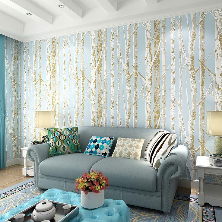 Las 25 mejores ideas sobre papel tapiz para paredes en - Papel pintado pared salon ...