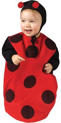 Ladybug Baby Costume - Baby Buntings