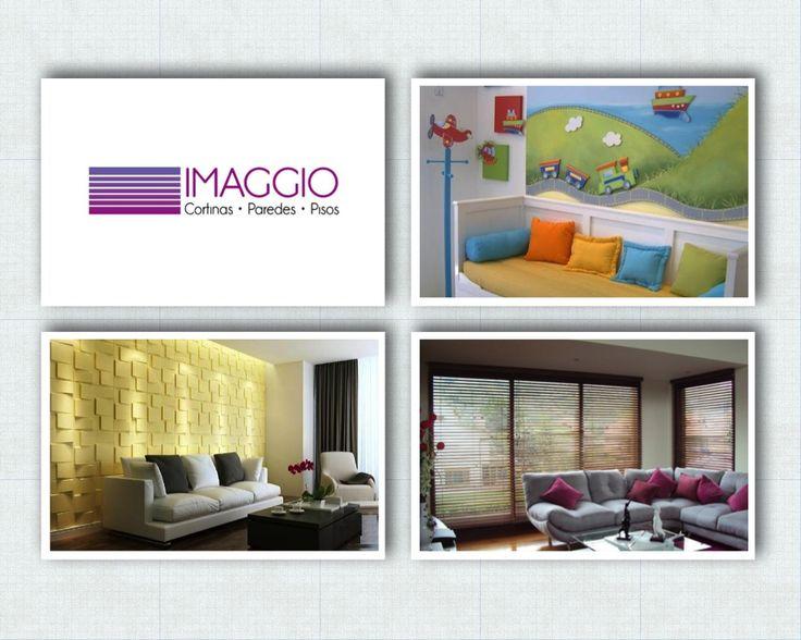 IMAGGIO DECORACION INTERIOR  Vendemos soluciones decorativas, cortinas, pisos, paredes, cocinas, remodelaciones, decoracion de interiores.  Lavado y mantenimiento de cortinas y persianas.  Bogotá - Colombia