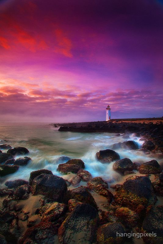 ~~Port Fairy Lighthouse - Sunrise ~ Warrnambool, Victoria, Australia by hangingpixels~~