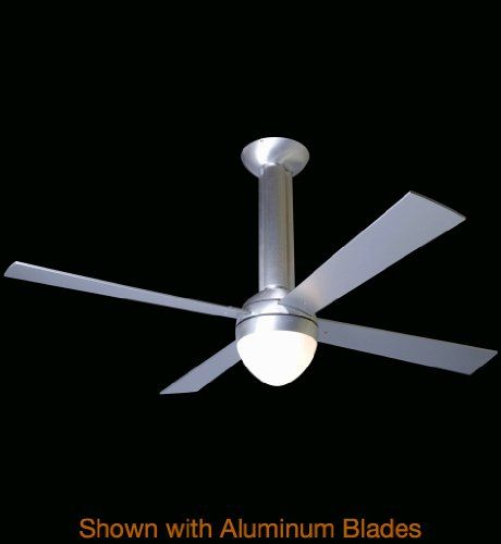 Modern Fan Company - STR-BA-52-MP-650-NC - Stratos Fan Shade: White Glass. No Control included. Blade Finish: Maple - Blade Span: 52 inches. Fan Wattage: 71 - CFM Per Watt: 78. Collection: Stratos.  #Modern_Fan_Company #Lighting