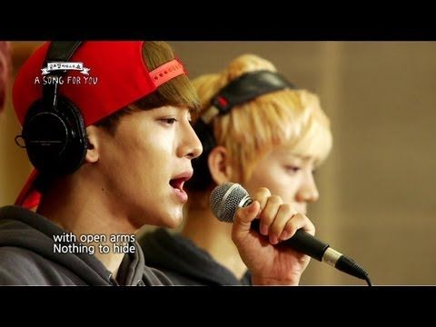 Global Request Show : A Song For You - Open Arms by EXO (2013.08.23)              in complete awe ...
