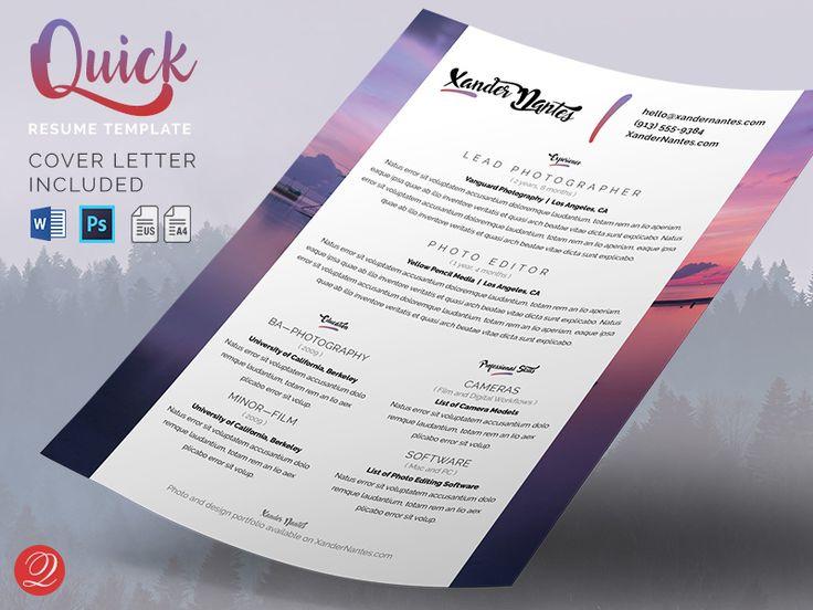 9 best Resume   CV Templates images on Pinterest Curriculum - sample designer resume template