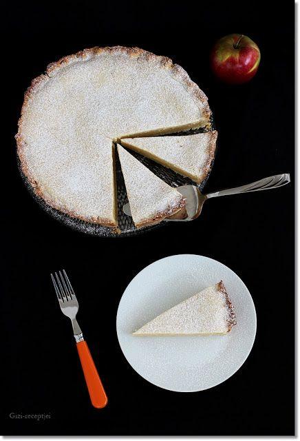 Gizi-receptjei.  Várok mindenkit.: Almás-krémsajtos pite.