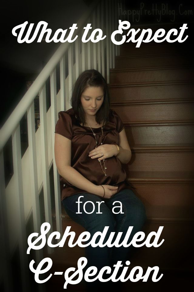 What to Expect for a Scheduled C-Section | HappyPrettyBlog.Com