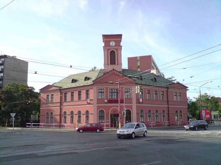 Budova prvej konskej železnice vUhorsku