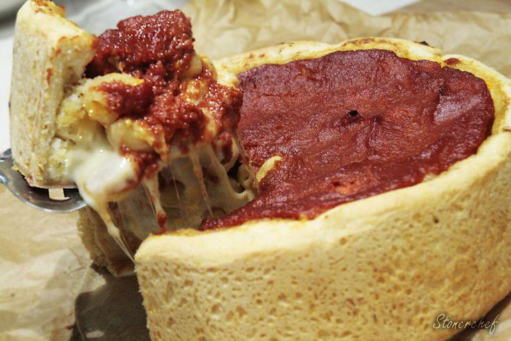 Ostateczna rozpusta: Deep Dish Mac and Cheese Pizza