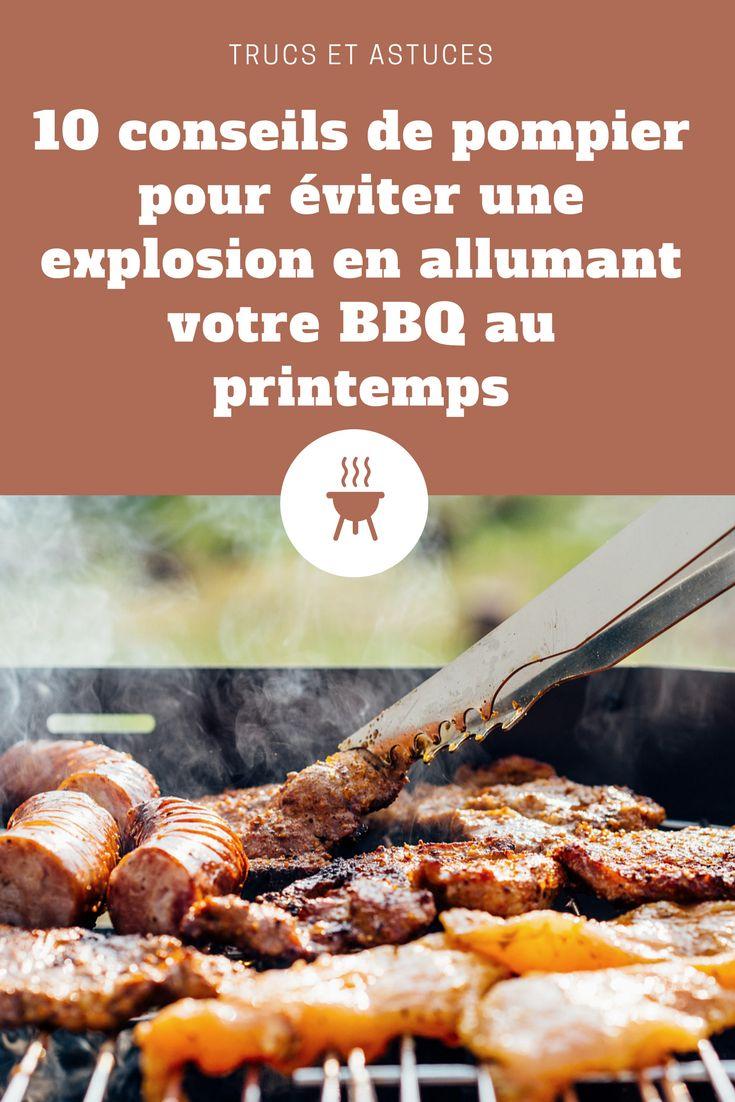 10 conseils de pompier pour éviter une explosion en allumant votre BBQ au printemps. . . . #BBQ #barbecue #explosion #allumer #conseils #trucs #ouverture #pompier #printemps #été #astuces