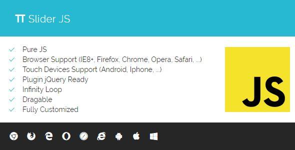Download PI Slider JS - Responsive Slider Pure JS Nulled Latest Version