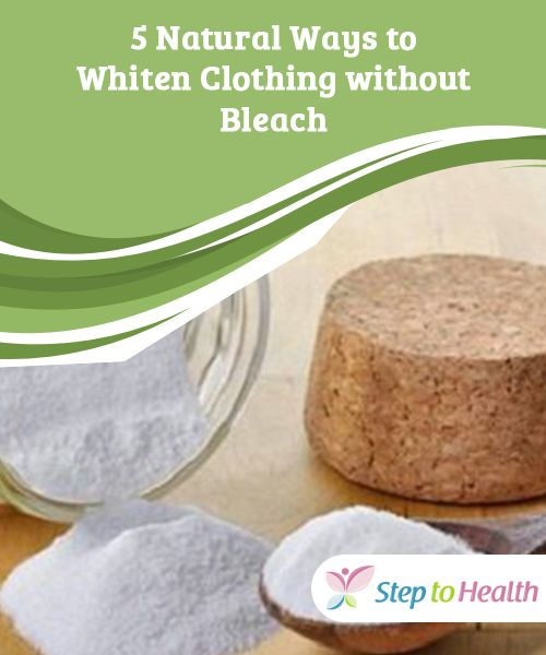 5 Natural Ways to Whiten #Clothing without #Bleach   In today's article we want to share some tricks to #clean your laundry and whiten clothing in a more environmentally-friendly way by using natural #products