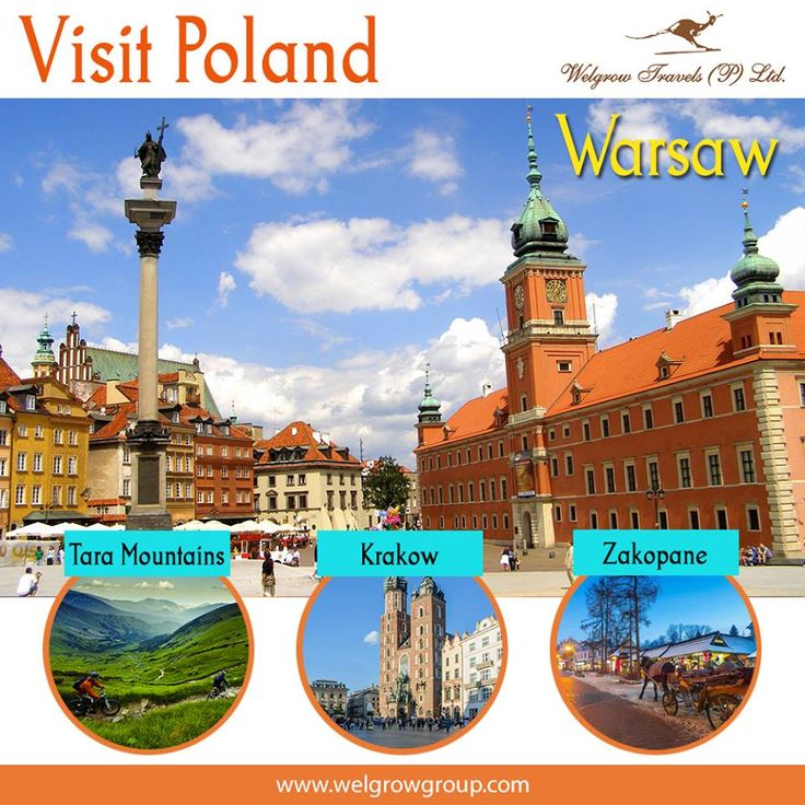 Poland Holidays  Plan exotic and customized Poland #holidays with Welgrow Travels Poland holiday packages. Travel to Poland by availing the Poland tour packages and have a wonderful #travelling experience.  Explore #Poland with our Luxury #TourPackages at: www.welgrowgroup.com  #LuxuryTravel #LuxuryTrip #Tours #LuxuryTours #LuxuryDestinations #Vacation #Traveling #Tourism #WelgrowTravels #TaraMountains #Warsaw #Krakow #Zakopane