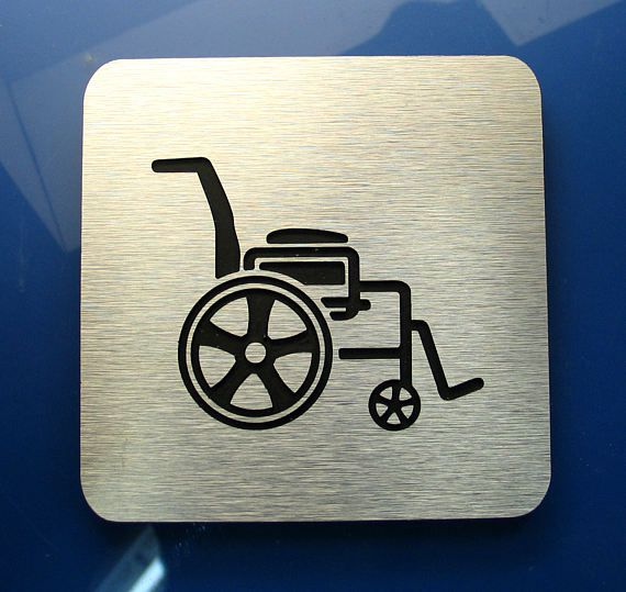 Bathroom Signs Silver 69 best modern bathroom signs images on pinterest | bathroom signs