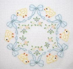 Maybe not for a quilt, but for something smaller? I can see portions of this pattern on a dress...would be very pretty