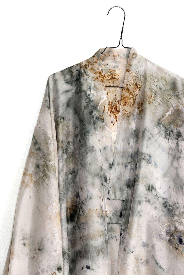 ALICE FINE #plantdye #organicdye #sustainable #fashion #kimono  New Kimonos available May  29th 2016! http://alicefine.com/ http://alicefinestore.tictail.com/