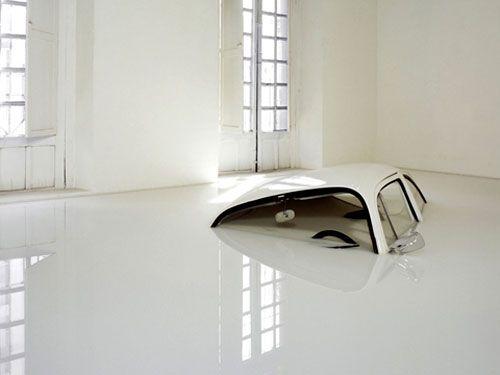 Volkswagen Beetle Art Installation: Ivan Puig, Vw Beetles, Vw Bugs, White Rooms, Art Installations, Bugs Art, Quirky Art, Ivanpuig, Until