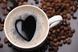 kawa z sercem:)