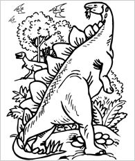 41 best images about Dinos Kleurplaten on Pinterest  Coloring