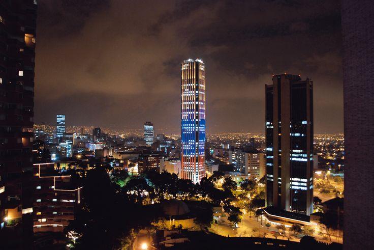 Torre Colpatria in Bogotá, Colombia.